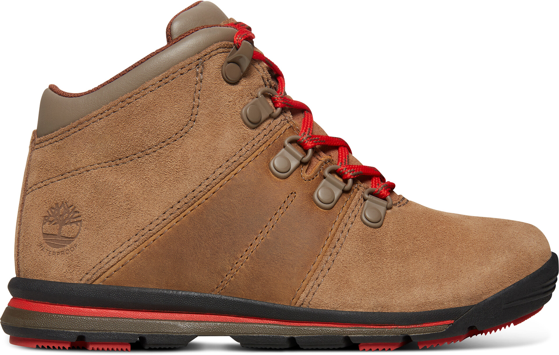 Timberland GT Rally Mid WP Chaussures Enfant, medium brown suede